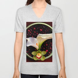 Mixed Messages Unisex V-Neck