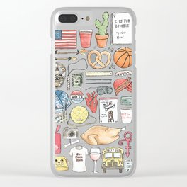 New Girl Clear iPhone Case