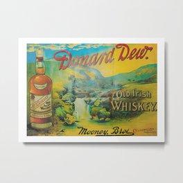 Old Whiskey Metal Print