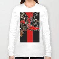 broken Long Sleeve T-shirts featuring Broken    by Happy Holidays!