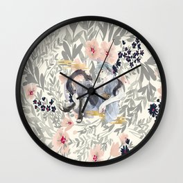 teen mitsuki Wall Clock