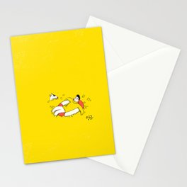 Flowers sea Stationery Cards