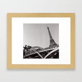 Paris, the Eiffel Tower Framed Art Print