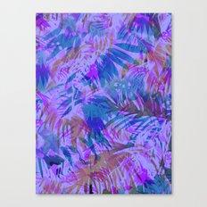 Palmtastic Purple Canvas Print