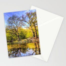 The Tranquil Pond Stationery Cards