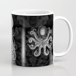 Cephalopods (Black and White) Coffee Mug