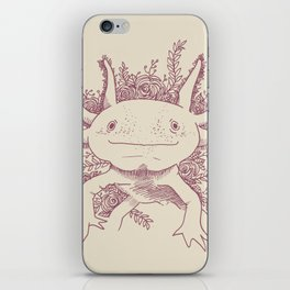 Axolotl iPhone Skin