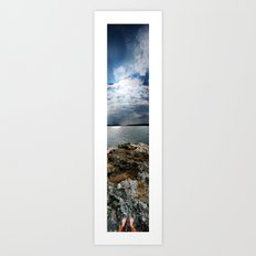 Sweden - Vertical Panorama Art Print