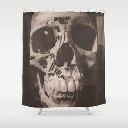 Orbicularis Oculi Shower Curtain