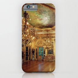 Newport Mansions, Rhode Island - Marble House - Gold Room #1 iPhone Case