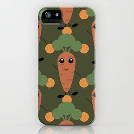 Cute carrot iPhone Case