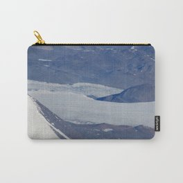 Antarctic Rock Formation Carry-All Pouch