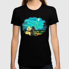 Dogs in Pumpkin Patch T-shirt