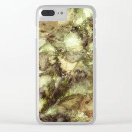 Ground effect Clear iPhone Case