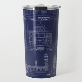 The Architecture of Pakistan Travel Mug