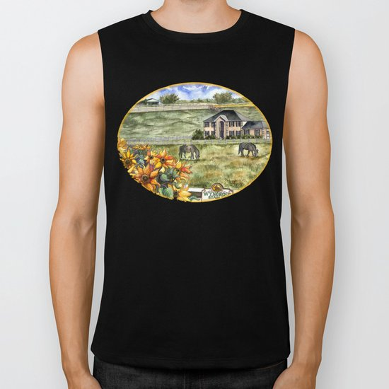 The Horse Ranch Biker Tank