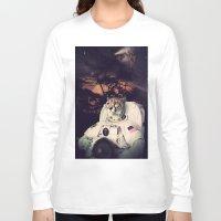 cheetah Long Sleeve T-shirts featuring Cheetah by Nicholas Redfunkovich