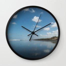 Beach reflection Wall Clock