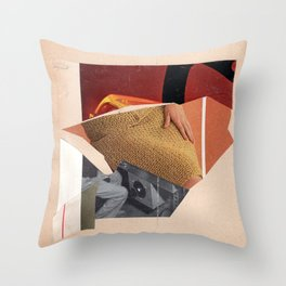 dual beam outposts Throw Pillow