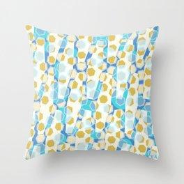 The yellow herring Throw Pillow