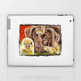 Chicksitting Afternoon Laptop & iPad Skin