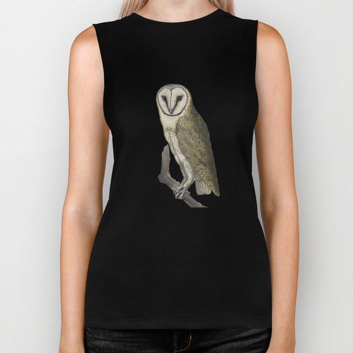 Owl in the Universe Biker Tank