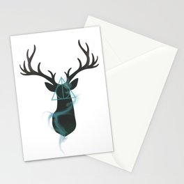 Deathly Hallows Stag Stationery Cards