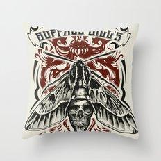 Buffalo Bill Lotion Poster Throw Pillow
