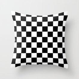 Ska Checker Pattern Throw Pillow