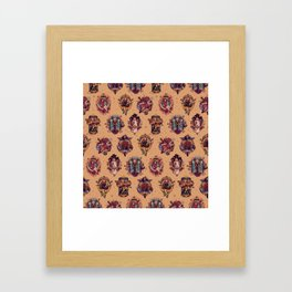 All Those Bright and Shining Companions Framed Art Print