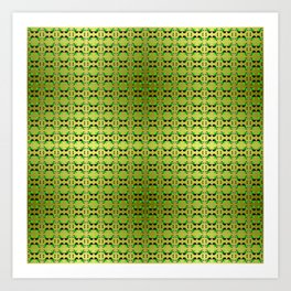 Flex pattern 3 Art Print