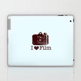 I ♥ Film (Maroon/Aqua) Laptop & iPad Skin