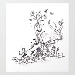 Bygones and Beginnings Art Print