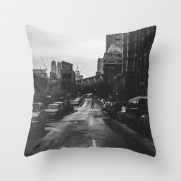 Brooklyn Loner Throw Pillow