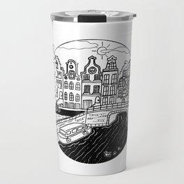 Memories of Amsterdam Travel Mug