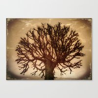 crown Canvas Prints featuring Crown by Armine Nersisian