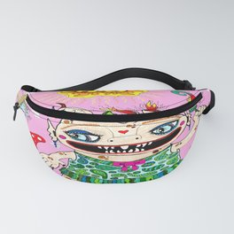 Little Baby Girl She-Beast and Friends, Pink Fanny Pack