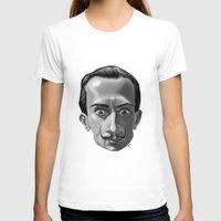 salvador dali T-shirts featuring Salvador Dali by Kostas Roussos