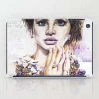lana iPad Cases featuring Lana by Kim Morrow