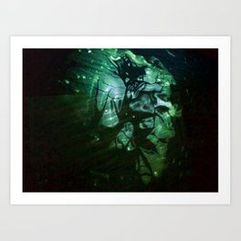 Dissolving Fear & Uncovering Layers of Light Art Print