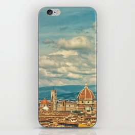Duomo in Florence Skyline iPhone Skin