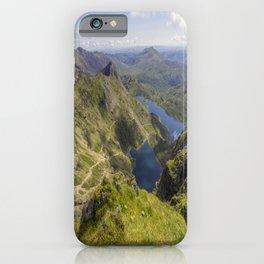 Snowdon Summit iPhone Case