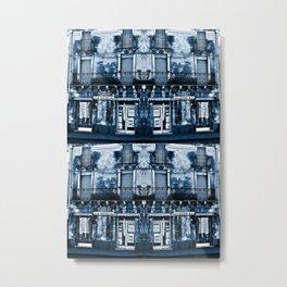 CLASSIC BLUE SICILIAN SOUND Metal Print