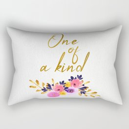 One of a kind - Flower Collection Rectangular Pillow