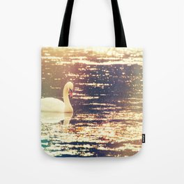Dreamy Swan Tote Bag