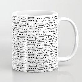 Hand Drawn Dots and Elipses Coffee Mug