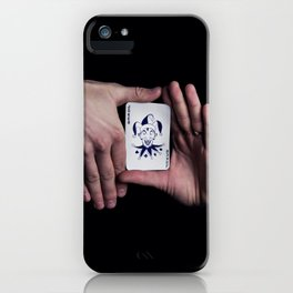 tricky hands iPhone Case