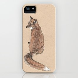 Fox folk iPhone Case