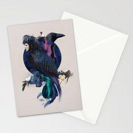 liquor for the birds Stationery Cards