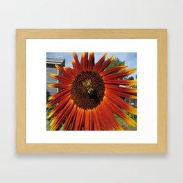 The Humble Bumble Framed Art Print